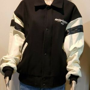 Vintage Harley Davidson Las Vegas Leather Jacket M